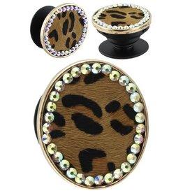 Your Fashion Wholesale POP IT Leopard Popsocket