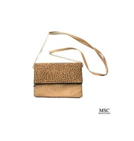 Mainstreet Collection MIDTOWN Leopard Crossbody