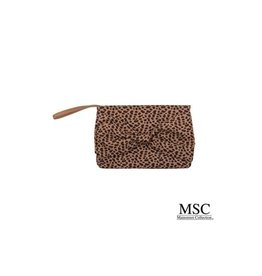 Mainstreet Collection LEOPARDISTA Bow Wristlet