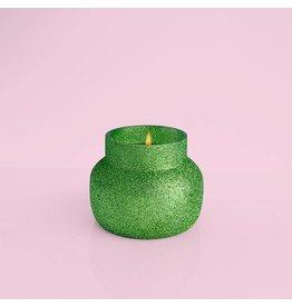 Capri Blue GREEN GLITTER Alpine Juniper Candle 8oz