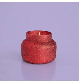 Capri Blue RED GLITTER Signature Volcano Candle 19oz