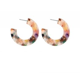 CAMBER Semicircle Multicolor Stud Earring