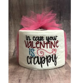 The Ritzy Gypsy Crappy Valentine Toilet Paper