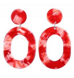 AMARA Acrylic Drop Earring