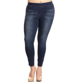 Color5 PIPER Plus Size Denim Jeggings