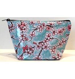 SarahJanes Oilcloth COSMETIC BAG Oilcloth Large