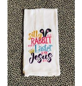 The Ritzy Gypsy SILLY RABBIT Towel