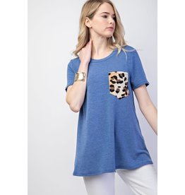 12 PM by Mon Ami JUNCTION Top with Leopard Pocket