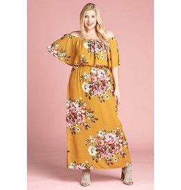 Oddi TRIPP Curvy Girls Floral Maxi Dress