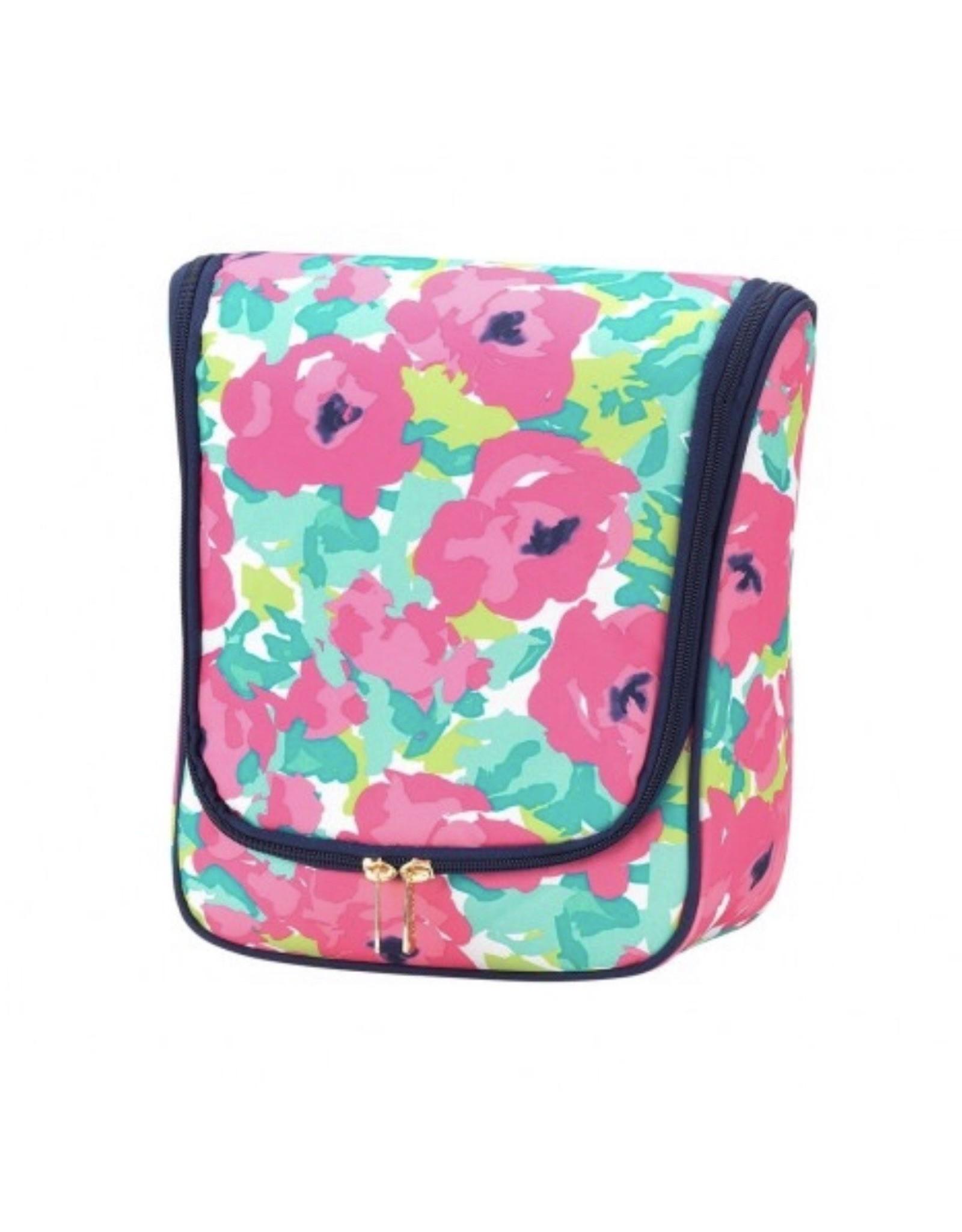 Viv & Lou GRACE Floral Summer Line Hanging Travel Case