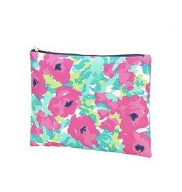 Viv & Lou GRACE Floral Summer Line Zip Pouch