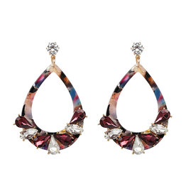 ELLA Acrylic Crystal Earrings