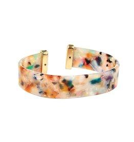 Kaleidoscope Accessories RICHMOND Acrylic Cuff (More Colors)