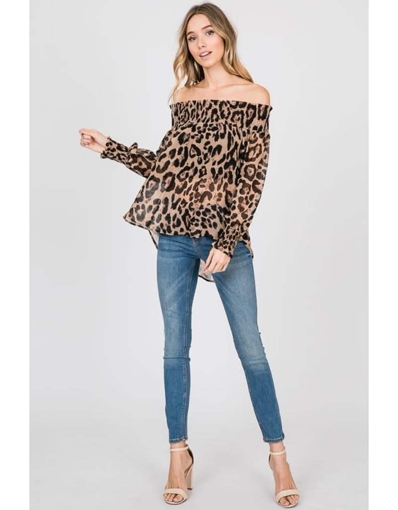 Cezanne AMARAH Off-the-Shoulder Top