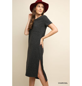 UMGEE KINSLEY Knit High Low Tee Dress