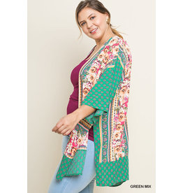 UMGEE QUINN Floral Mix Kimono