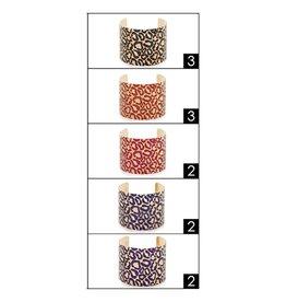 Funteze Accessories ELIZA Leopard Cuff