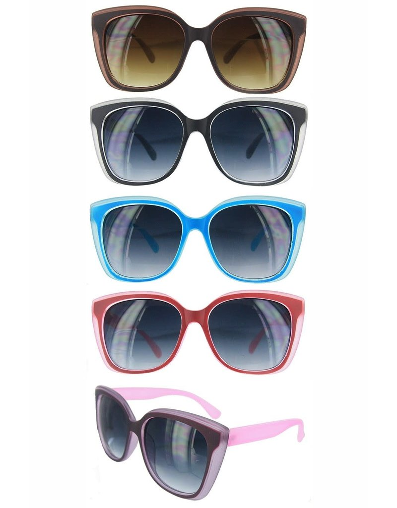 Funteze Accessories ALYSSA Sunglasses Assorted Colors