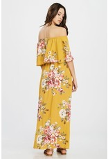 Oddi TRIPP Floral Print Maxi Dress