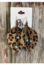 Your Fashion Wholesale KIPP Leopard Hide Teardrop Earring