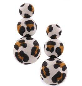 YooMoo STACKED Leopard Earring