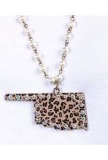 KNC ENVY Leopard Oklahoma Necklace