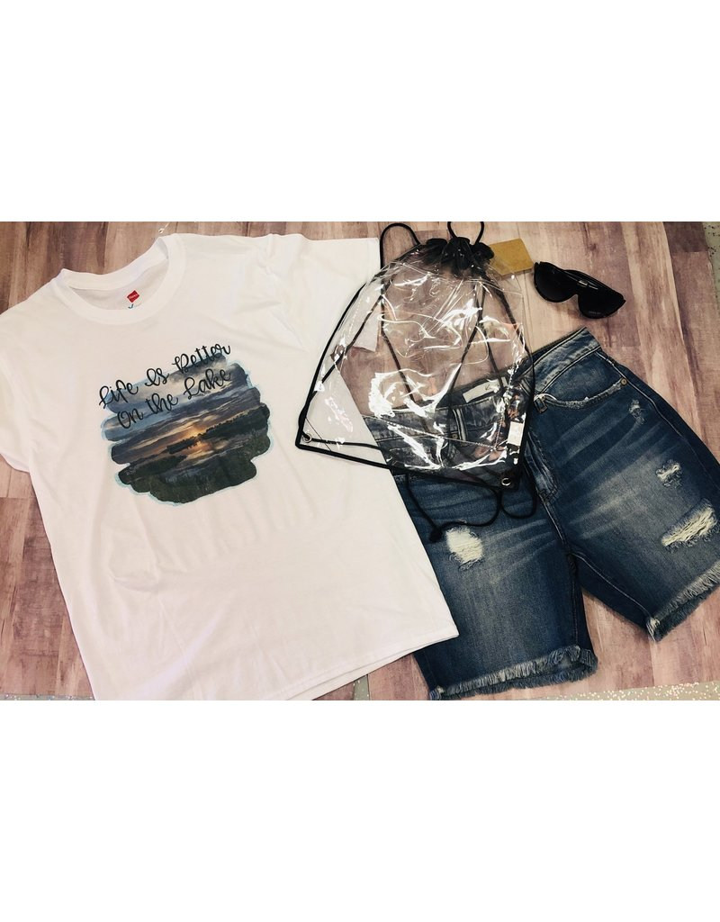 The Ritzy Gypsy LAKE LIFE Tee