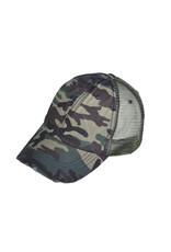 Buck Wholesale Camo Trucker Hat