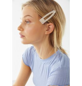 Joia Trading CARLSON Pearl Hair Clip (set of 2)