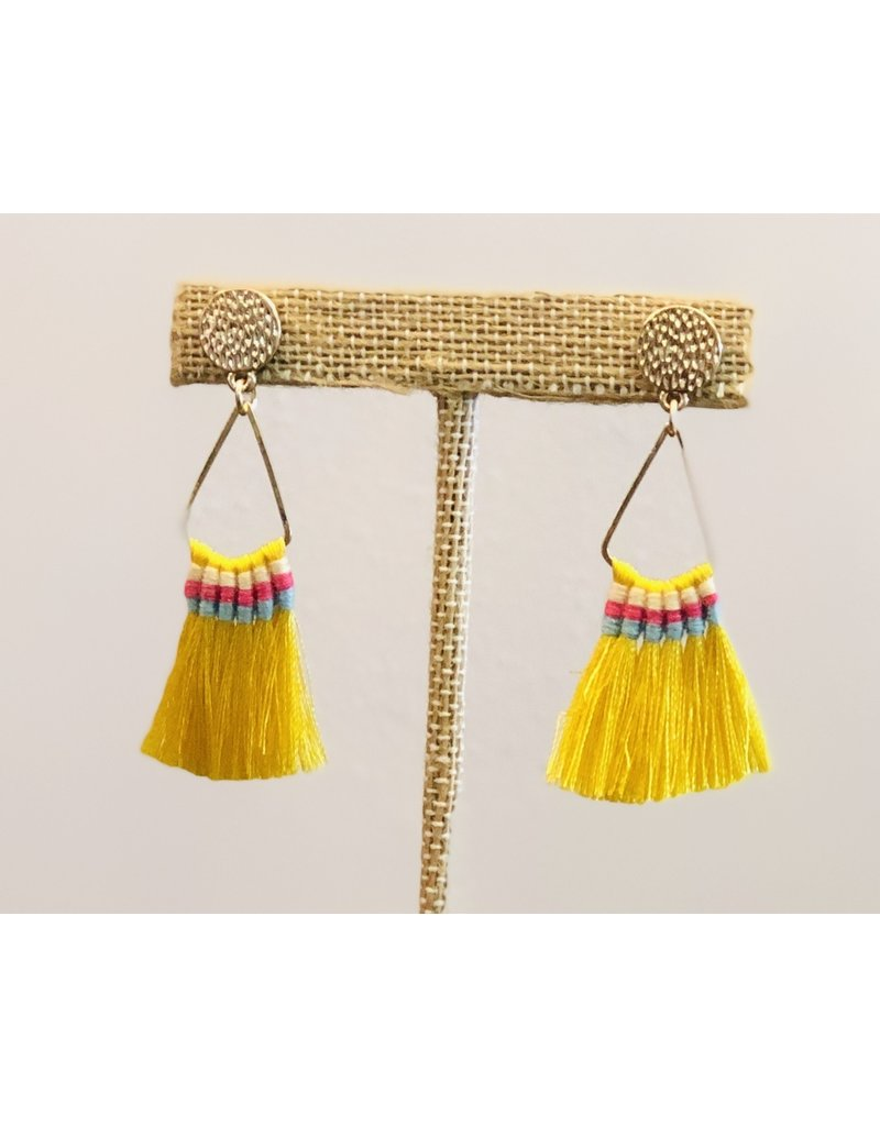 Joia Trading ROCHESTER Tassel Earring (More Colors)