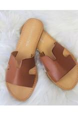 CCOCCI TORI Tan Cutout Sandal