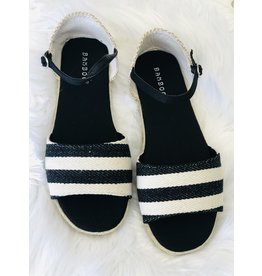CCOCCI BAYLOR Striped Sandal