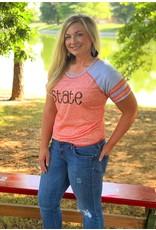 Augusta STATE Heathered Gameday Tee