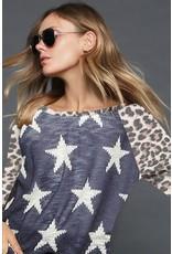 BiBi ALLIE Star Print W/Leopard