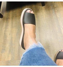 melissa CHARLOTTE Puzzle Black Sandal