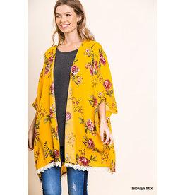 UMGEE MINA Mustard Kimono