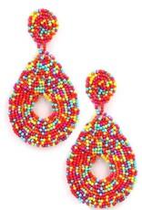 Art Box/KNC LOVESTRUCK Seed Bead Earring