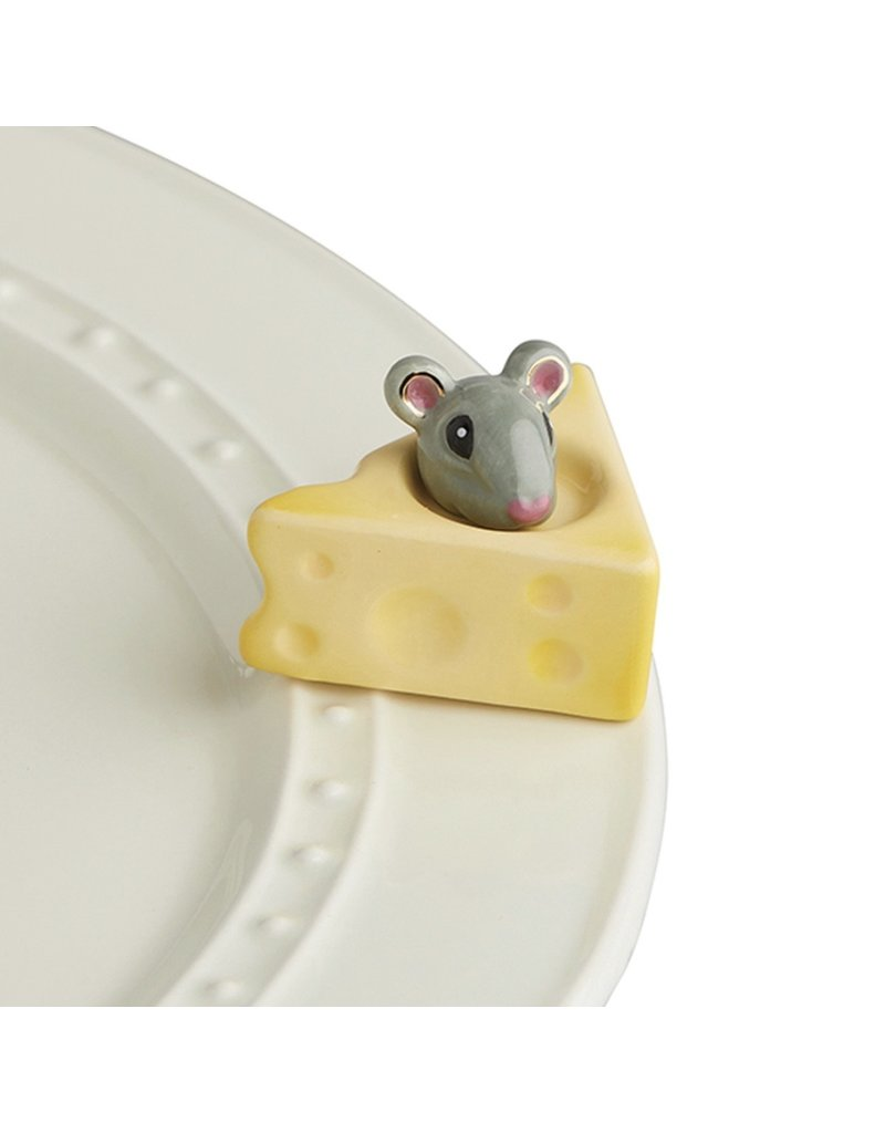 Nora Fleming CHEESE PLEASE Mouse Mini by Nora Fleming