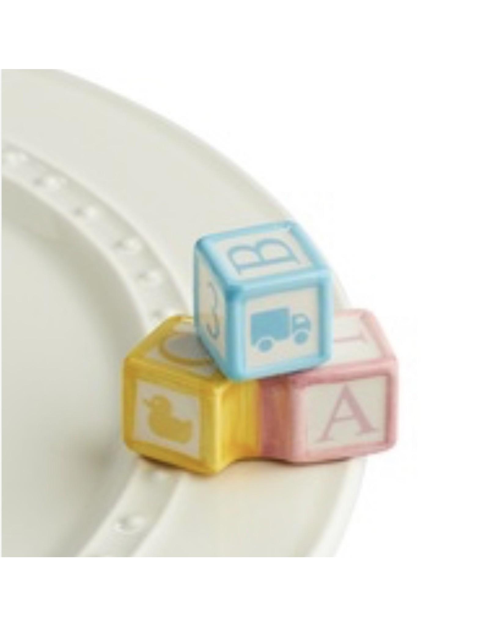 Nora Fleming OH BABY! Mini (Baby Blocks)