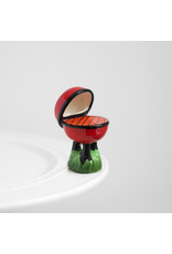 Nora Fleming HOT STUFF Grill Mini by Nora Fleming