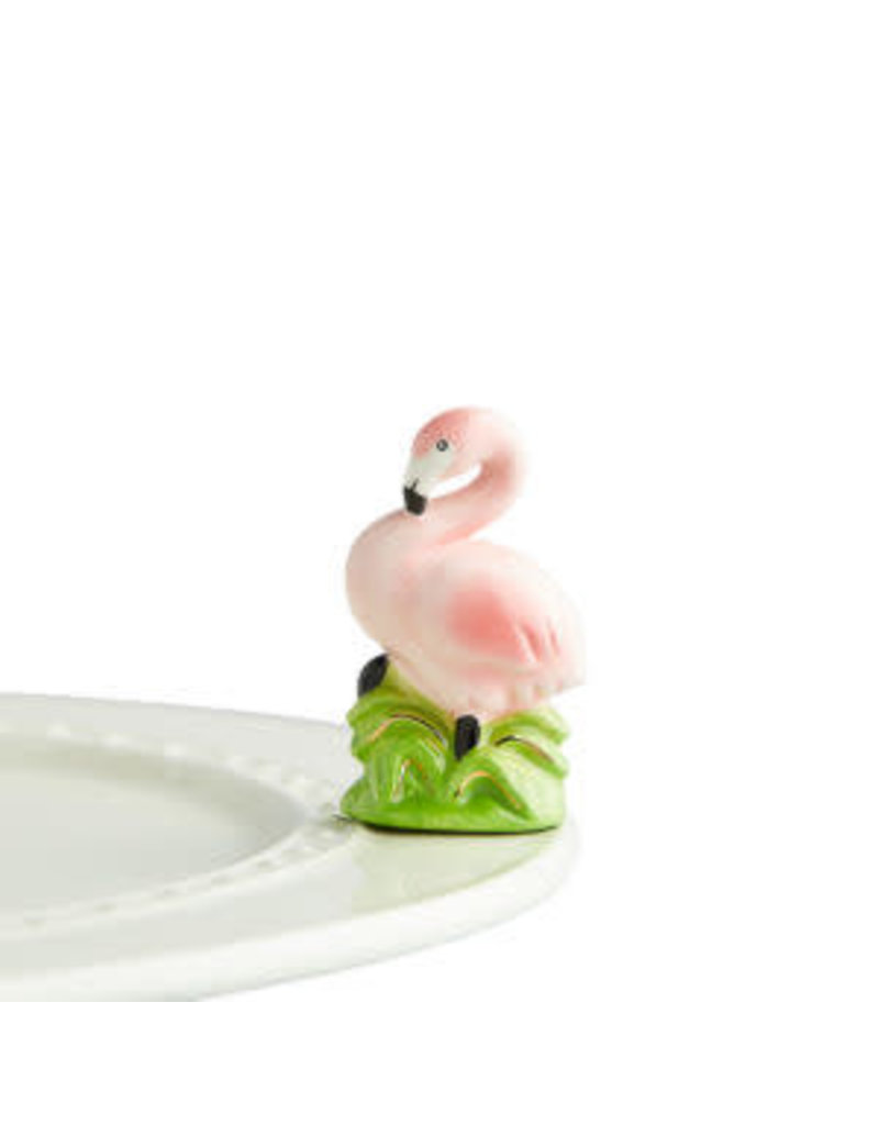 Nora Fleming SUMMER THEMED Nora Fleming Minis Tickled Pink(Flamingo)