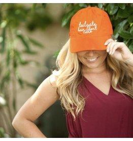 Viv & Lou TAILGATE Orange Trucker Hat