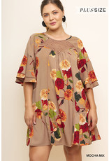 UMGEE CARMEN Bell Sleeve Dress (S-2XL)