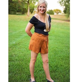 The Ritzy Gypsy ROWAN Self Tie Soft Shorts (More Colors)