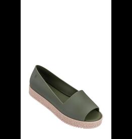 melissa COURTNEY Puzzle Dark Green Sandal