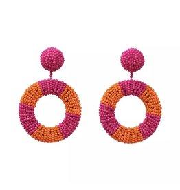 Jujia FALLON Seed Bead Earring