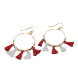 ERIMISH FIELD GOAL Game Day Earring by ERIMISH