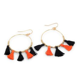 ERIMISH GO POKES Game Day Earring by ERIMISH