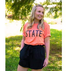 The Ritzy Gypsy Orange STATE Tee