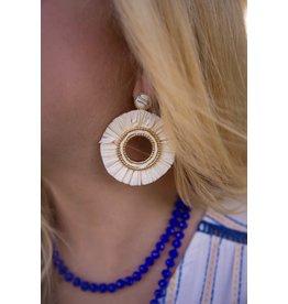 KNC SHY Raffia Earring